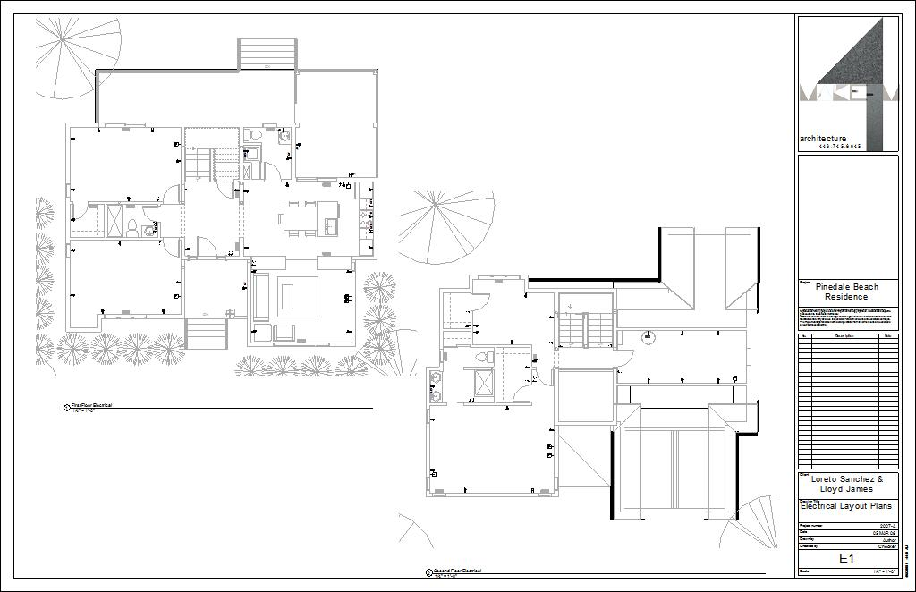 pinedalea  drawing sheet  e  electrical layout plans, electrical drawing
